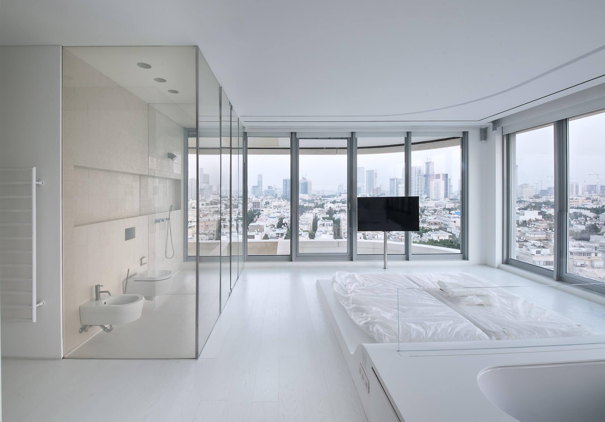 שינוי החלל מלופט גדול לשני חדרי שינה